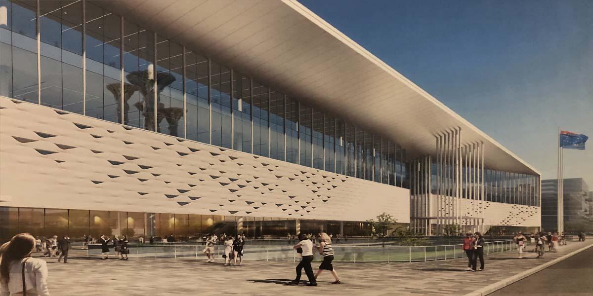 北京国家会议中心门窗型材陶瓷涂料定制工程案例